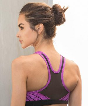 Fitness Top Dames Paars - Pursue Fitness Iconic Sports Bra-2