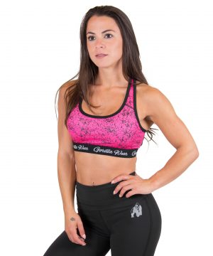 Fitness Top Dames Roze Hanna - Gorilla Wear-1