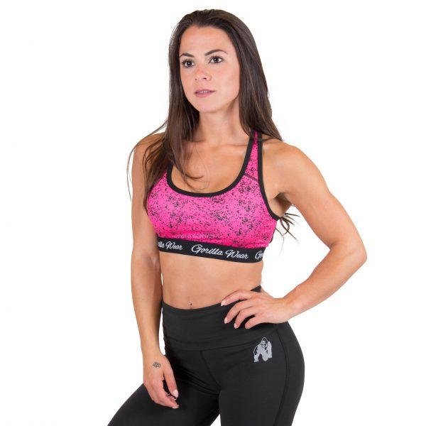 Fitness Top Dames Roze Hanna - Gorilla Wear-1