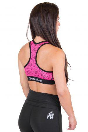 Fitness Top Dames Roze Hanna - Gorilla Wear-2