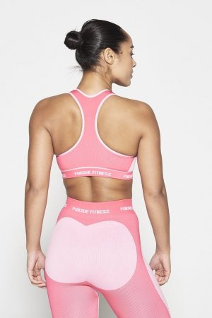 Fitness Top Dames Roze Seamless - Pursue Fitness-2