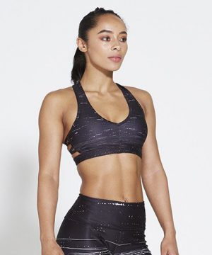 Fitness Top Dames Zwart - Pursue Fitness Allure Black Ice-1