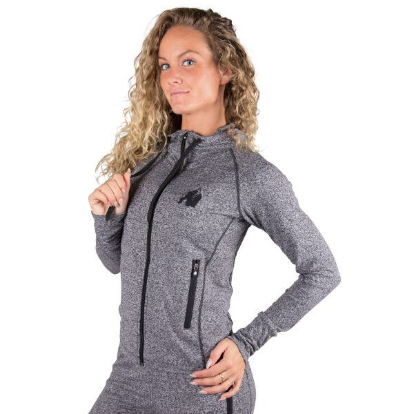 Fitness Trui Dames Grijs Shawnee - Gorilla Wear-1