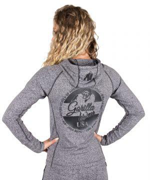 Fitness Trui Dames Grijs Shawnee - Gorilla Wear-2