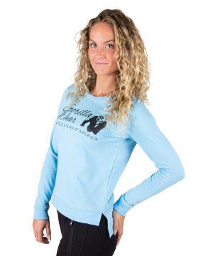 Fitness Trui Dames Riviera Blauw - Gorilla Wear-1