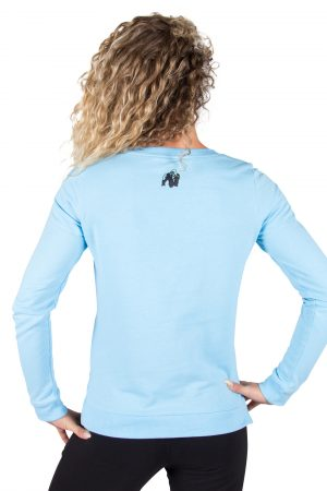 Fitness Trui Dames Riviera Blauw - Gorilla Wear-2
