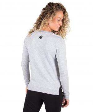 Fitness Trui Dames Riviera Grijs - Gorilla Wear-2