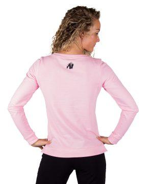 Fitness Trui Dames Riviera Roze - Gorilla Wear-2