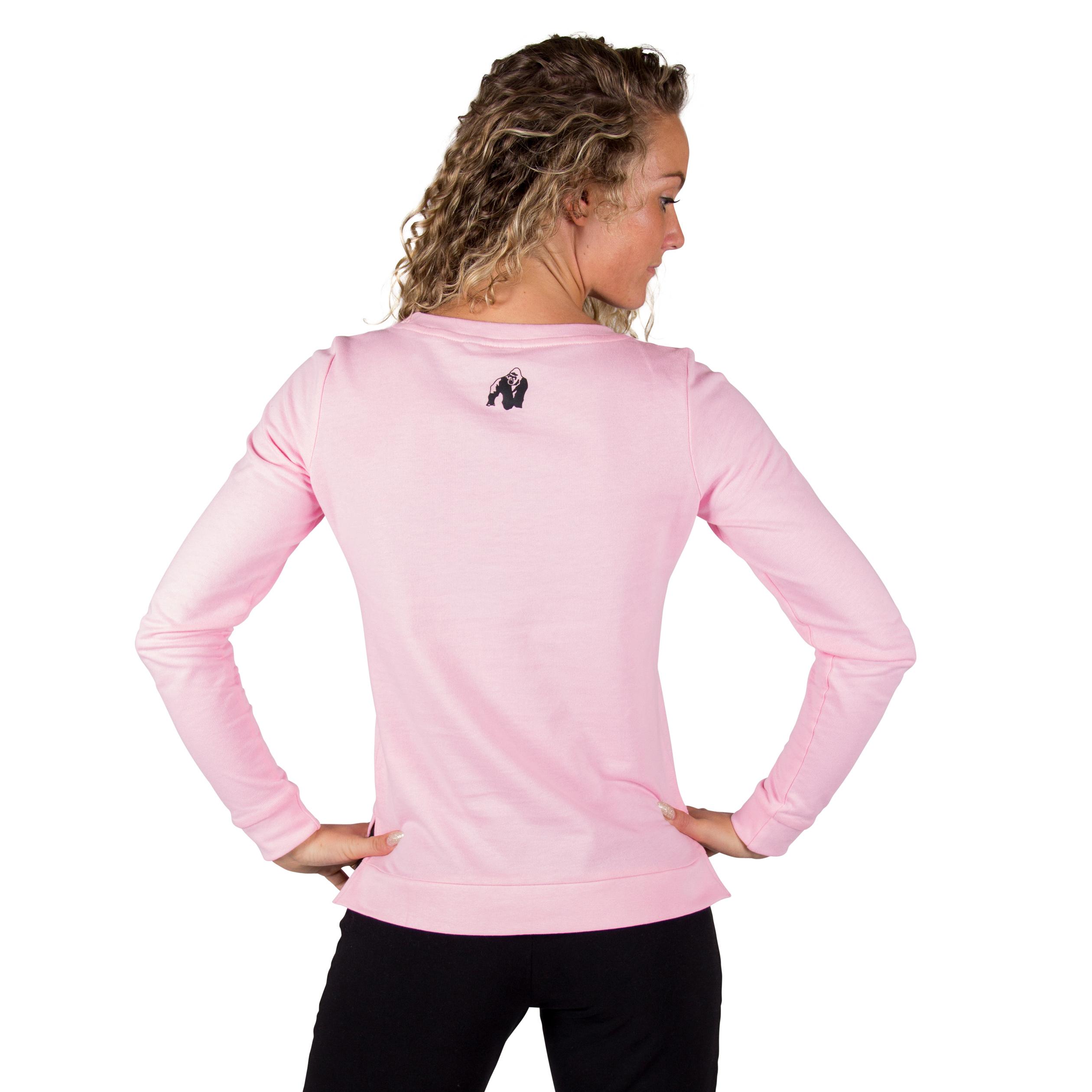 Dames Trui Roze.Fitness Trui Dames Riviera Roze Gorilla Wear Fitnesskledingshop Com
