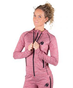 Fitness Trui Dames Rood Shawnee - Gorilla Wear-1