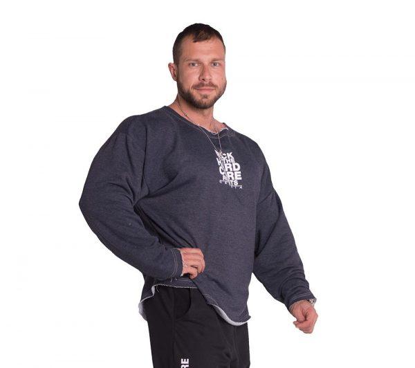 Fitness Trui Heren Blauw - Nebbia 342-1