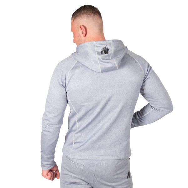 Fitness Trui Heren Blauw Zilver Bridgeport - Gorilla Wear-2
