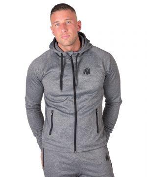 Fitness Trui Heren Donkergrijs Bridgeport - Gorilla Wear-1