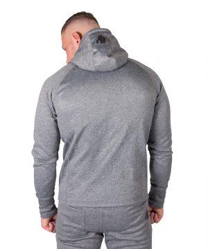 Fitness Trui Heren Donkergrijs Bridgeport - Gorilla Wear-2