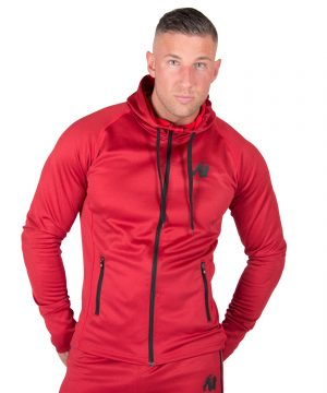 Fitness Trui Heren Rood Bridgeport - Gorilla Wear-1