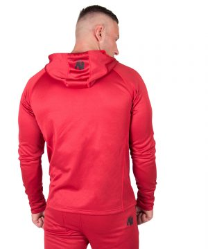 Fitness Trui Heren Rood Bridgeport - Gorilla Wear-2
