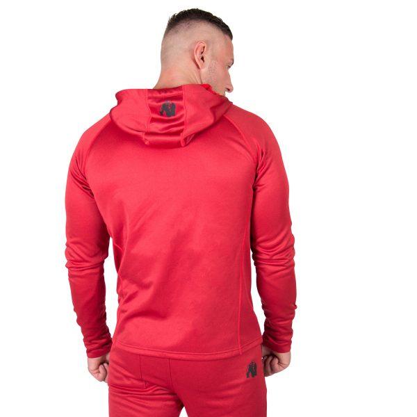 Fitness Trui Heren Rood Bridgeport - Gorilla Wear-2