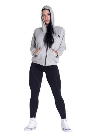 Fitness Vest Dames Grijs - Nebbia Loose Fit Jacket 289-3