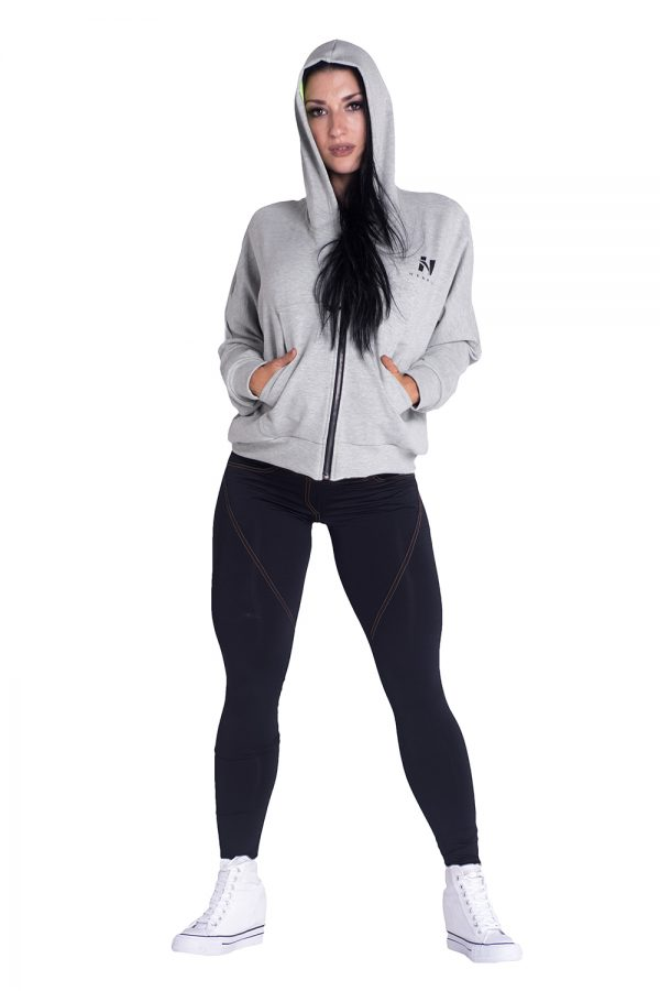 Fitness Vest Dames Grijs - Nebbia Loose Fit Jacket 289-3