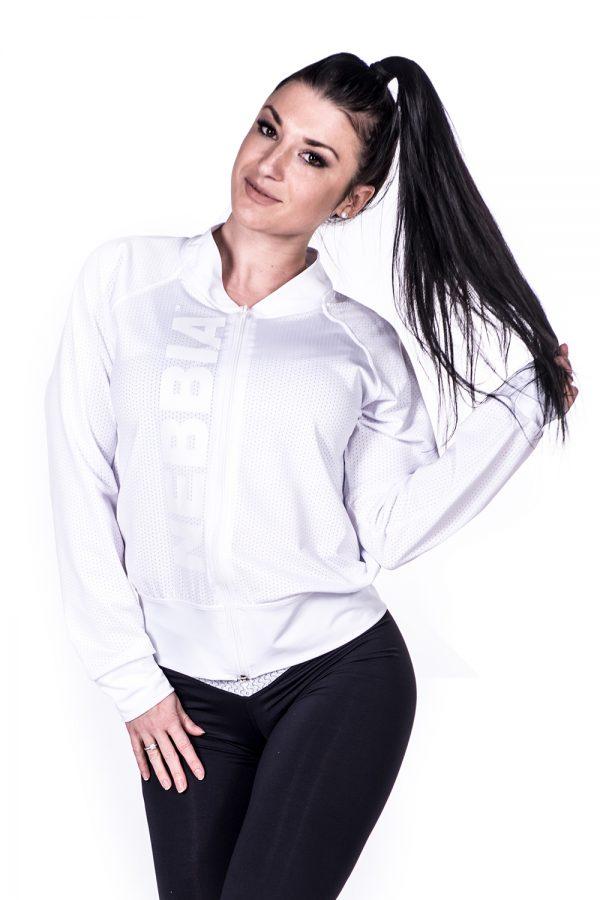 Fitness Vest Dames Wit Getailleerd - Nebbia 288-1