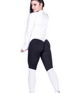 Fitness Vest Dames Wit Getailleerd - Nebbia 288-2