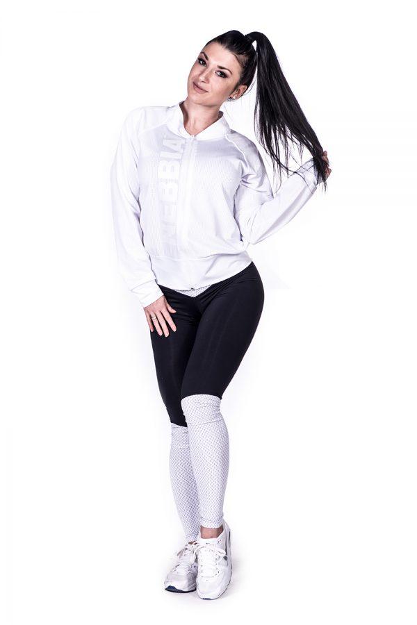 Fitness Vest Dames Wit Getailleerd - Nebbia 288-3