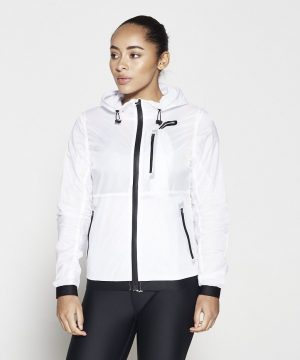 Fitness Vest Dames Wit - Pursue Fitness Running Jacket-1