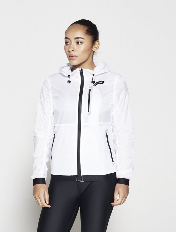 Fitness Vest Dames Wit - Pursue Fitness Running Jacket-1