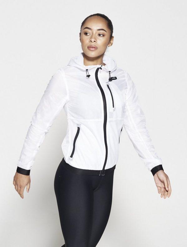 Fitness Vest Dames Wit - Pursue Fitness Running Jacket-2