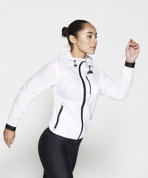Fitness Vest Dames Wit - Pursue Fitness Running Jacket-3