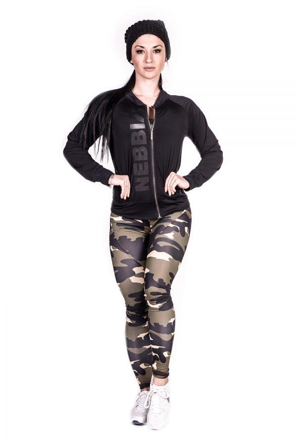 Fitness Vest Dames Zwart Getailleerd - Nebbia 288-2