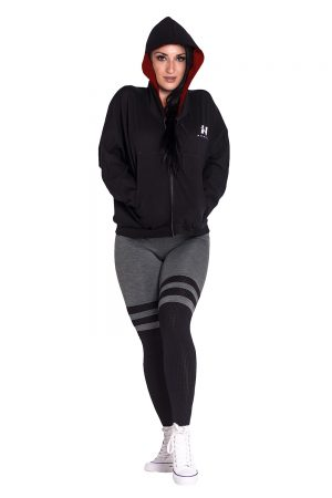 Fitness Vest Dames Zwart - Nebbia Loose Fit Jacket 289-2