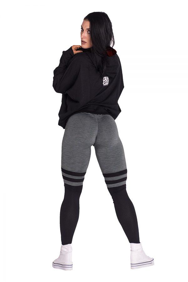 Fitness Vest Dames Zwart - Nebbia Loose Fit Jacket 289-3