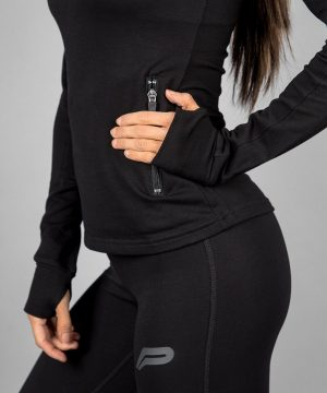 Fitness Vest Dames Zwart - Pursue Fitness-4