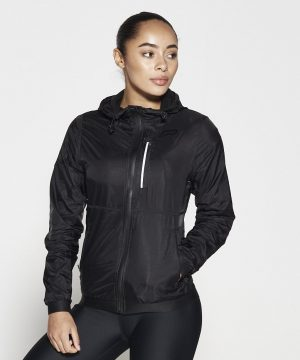 Fitness Vest Dames Zwart - Pursue Fitness Running Jacket-1