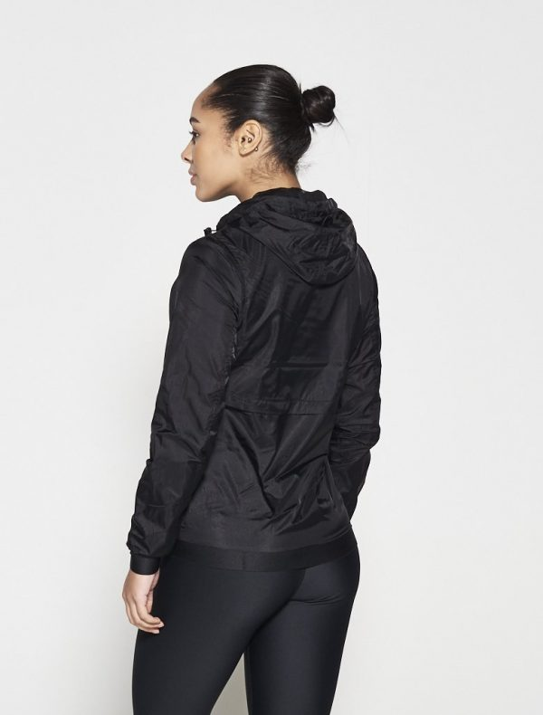 Fitness Vest Dames Zwart - Pursue Fitness Running Jacket-2