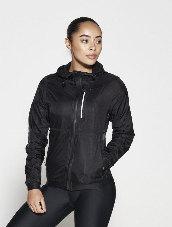 Fitness Vest Dames Zwart - Pursue Fitness Running Jacket-3
