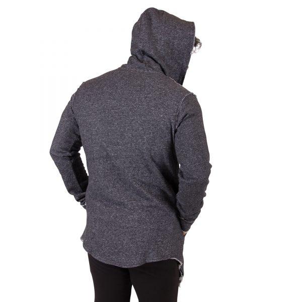 Fitness Vest Heren Grijs Bolder - Gorilla Wear-4