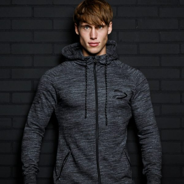 Fitness Vest Heren Original Dark Slub - Disciplined Apparel