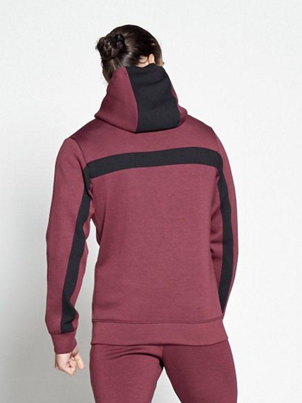 Fitness Vest Heren Rood Hybrid - Pursue Fitness-2