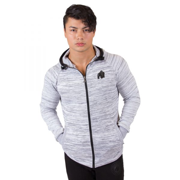Fitness Vest Heren Wit Keno - Gorilla Wear-1