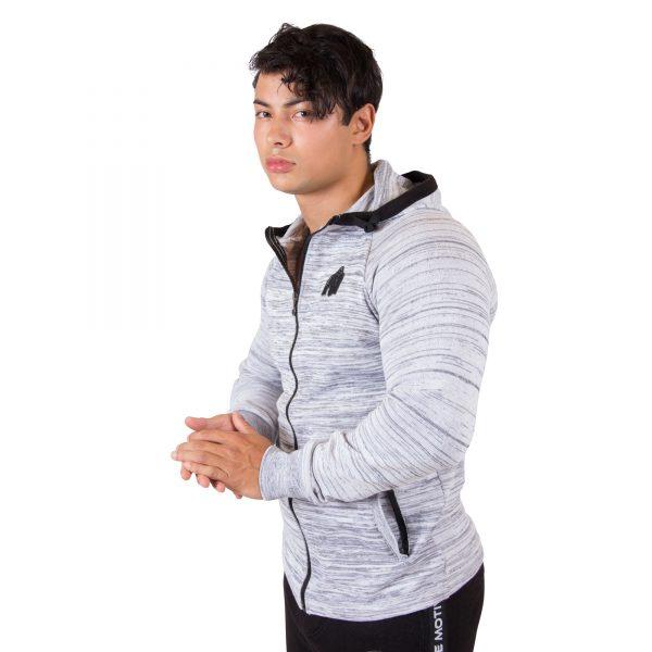 Fitness Vest Heren Wit Keno - Gorilla Wear-2
