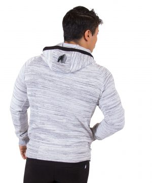Fitness Vest Heren Wit Keno - Gorilla Wear-3