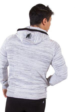 Fitness Vest Heren Wit Keno - Gorilla Wear-3
