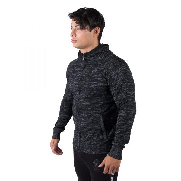 Fitness Vest Heren Zwart Keno - Gorilla Wear-2