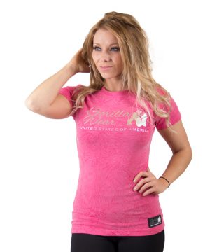Fitness t-shirt Dames Camden - Gorilla Wear-1