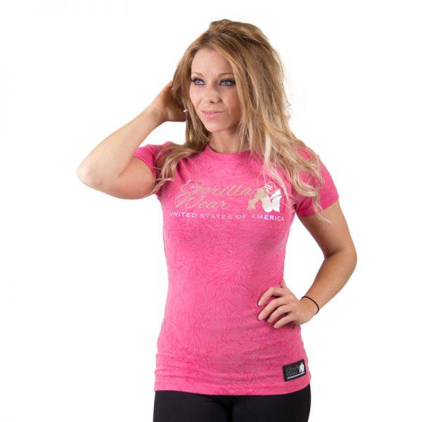 Fitness t-shirt Dames Camden - Gorilla Wear-1