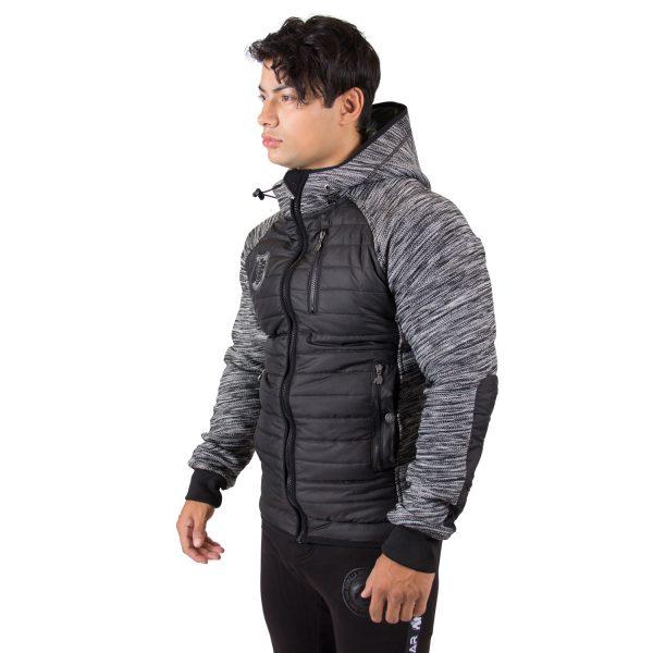Paxville Jacket Zwart Grijs - Gorilla Wear-5