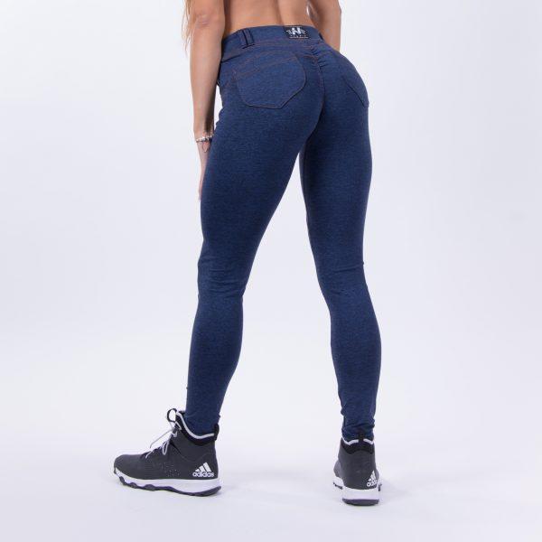 Push-up broek Dames Blauw - Nebbia 251 Bubble Butt Pants Blauw-3
