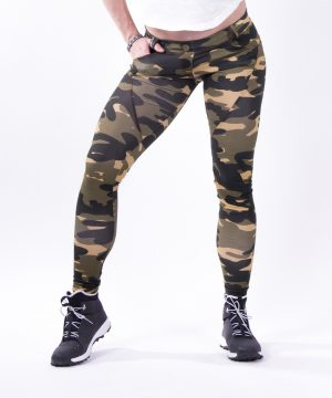 Push-up broek Dames Camo - Nebbia 252 Bubble Butt Pants Camo-3